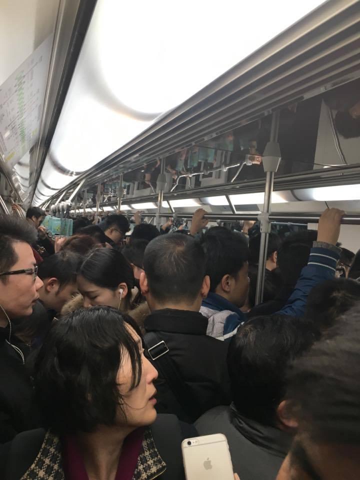 V šanghajskom metre