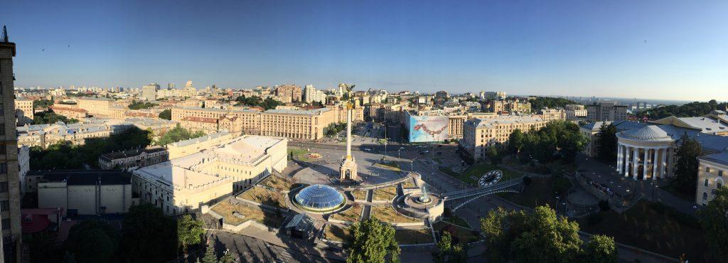 Majdan v Kyjeve zhora