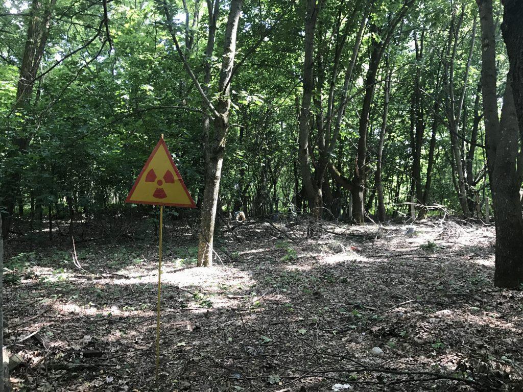 radioaktívna zóna Černobyľ