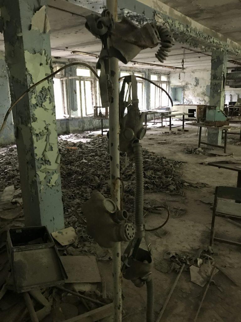 škola v Pripjati