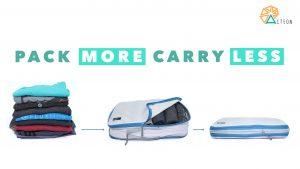 kompresné tašky na oblečenie